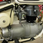 BMW R27 - 1966 - Carburettor, Brake Pedal and Gearbox.