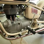 BMW R27 - 1966 - Single Cylinder Engine, Frame and Kick Start.