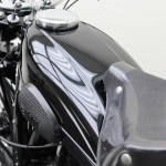 BMW R35 - 1948 - Fuel Tank, Knee Pad and Seat.