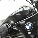 BMW R35 - 1948 - Gear Lever, Gas Tank and BMW Badge.