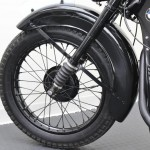 BMW R35 - 1948 - Front Wheel Rim, Spokes and Suspension.