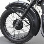 BMW R35 - 1948 - Front Wheel Rim, Spokes and Suspension.
