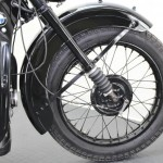BMW R35 - 1948 - Front Wheel, Front Brake and Fender