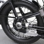 BMW R35 - 1948 - Rear Wheel, Shaft Drive and Brake.
