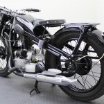 BMW R35 - 1948 - Exhaust, Rack and Frame.