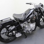 BMW R35 - 1948 - Rear Fender, Footrest and Rear Wheel.