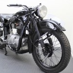 BMW R35 - 1948 - Fender, Headlight, Front Wheel and Brake.
