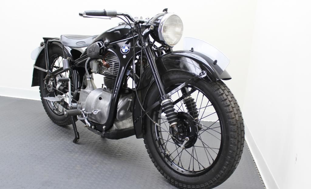 Restored Bmw R35 1948 Photographs At Classic Bikes