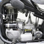 BMW R35 - 1948 - Motor and Transmission.