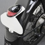 BMW R35 - 1948 - Rear Light, Rear Fender and Number Plate Bracket.