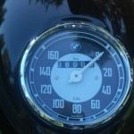 BMW R51/3 - 1951 - Headlight and Speedo.