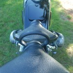BMW R51/3 - 1951 - Seat and Detachable Passenger Seat.