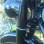 BMW R51/3 - 1951 - Forks, Headlight Brackets and Steering.