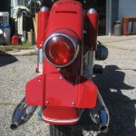 BMW R60 - 1969 - Rear Light, Rear Fender and Mufflers.