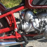 BMW R60 - 1969 - Shaft Drive, Air Cleaner, Frame and Footrest.