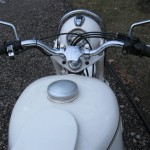 BMW R69S - 1966 - Handlebars and Steering Damper.