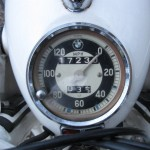 BMW R69S - 1966 - Speedometer, Clock.