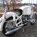 BMW R69S - 1966 - Frame, Rear Wheel and Rear Fender.