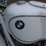 BMW R69S - 1966 - Fuel Tank and BMW Badge.