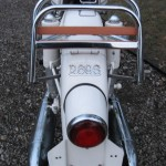 BMW R69S - 1966 - Rear Rack, Rear Light, Tail Light and Fender.