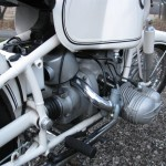 BMW R69S - 1966 - Engine, Cylinder head and Intake Tube.