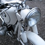 BMW R69S - 1966 - Headlight, Front Suspension and Mudguard.