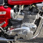 BSA Rocket 111 - 1969 - Engine Detail, Kick Start, Motor, Carburettors, Gear Change and Polished Case.