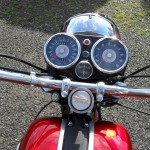 BSA Rocket 111 - 1969 - Handlebars, Clocks, Speedo, Tacho and Headlight.
