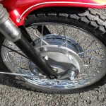 BSA Rocket 111 - 1969 - Front Forks, Front Wheel Hub and Front Brake.