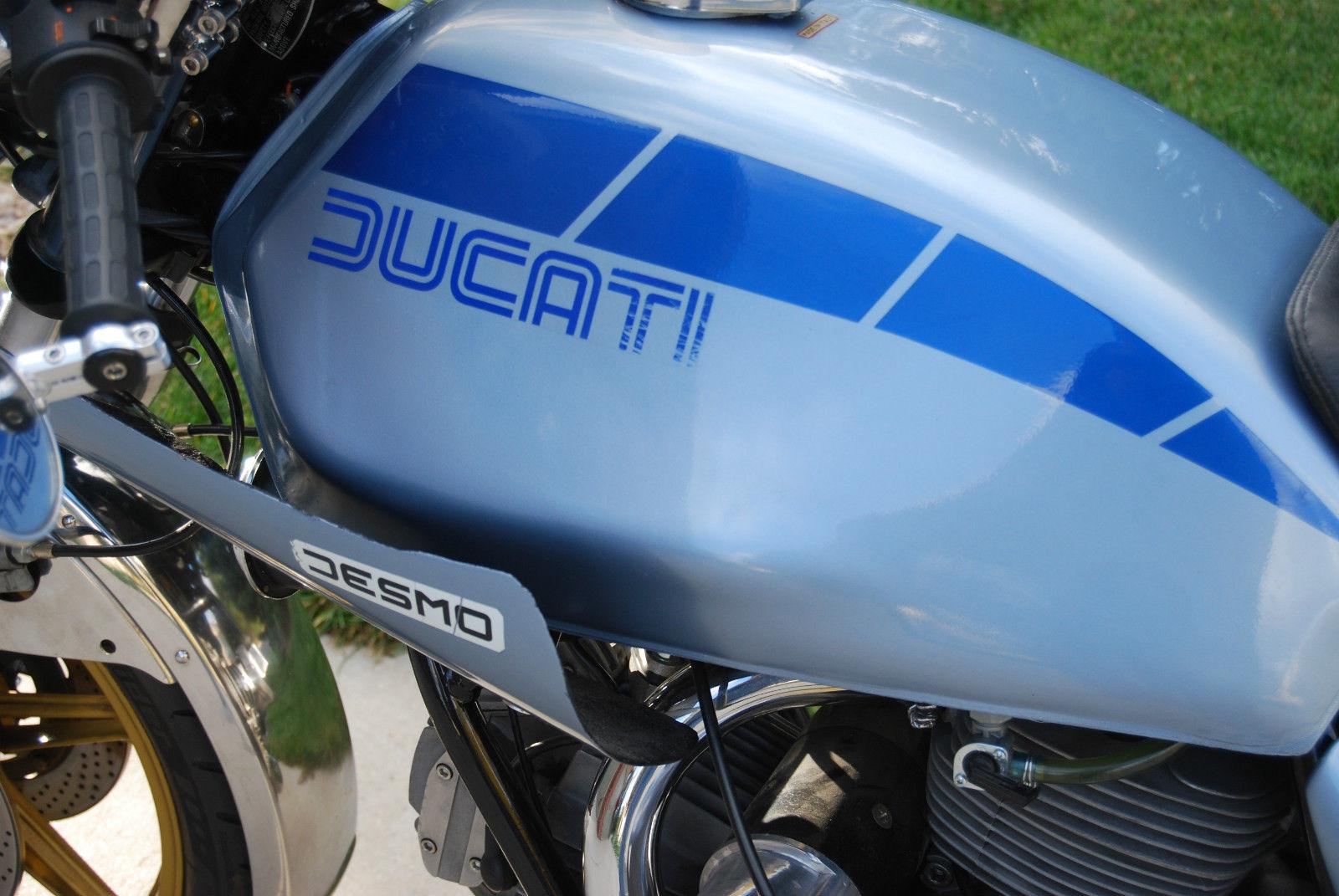 Ducati Darmah - 1980 - Ducati Decal, Gas Tank and Desmo Decal.