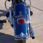 Harley-Davidson FLH Duo Glide - 1960 - Rear Fender, Tail Light and Muffler.