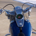 Harley-Davidson FLH Duo Glide - 1960 - Gas Tank, Speedo, Handlebars and Gas Cap