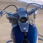 Harley-Davidson FLH Duo Glide - 1960 - Gas Tank, Speedo, Handlebars and Gas Cap