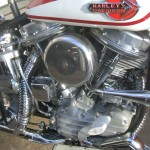 Harley-Davidson Panhead - 1960 - Headers, Cylinders, Air Cleaner and Gas Tank.