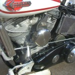 Harley-Davidson Panhead - 1960 - Gear Linkage, Horn, Motor, Heads and Transmission.