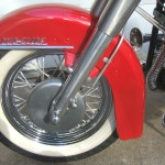 Harley-Davidson Panhead - 1960 - Front Brake, Font Wheel and Fender.