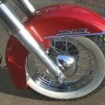 Harley-Davidson Panhead - 1960 - Front Forks, Front Wheel, Front Fender and Hub.