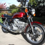 Honda CBX - 1979 - Front Wheel, Fender, Engine and Headlight.