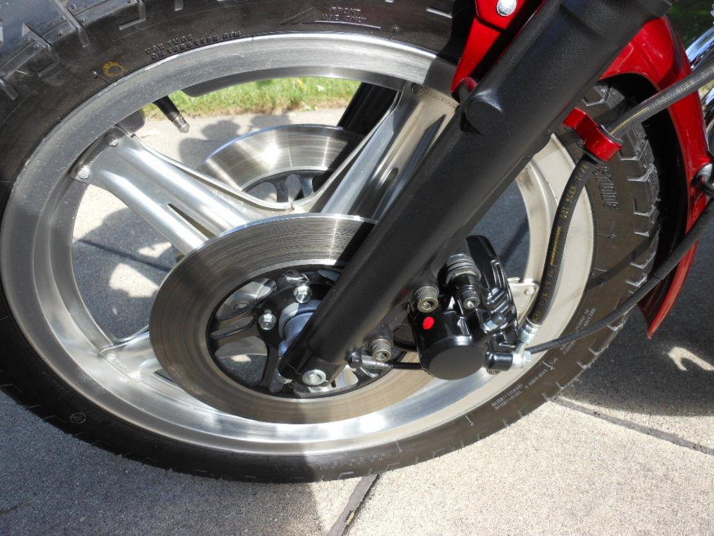Honda CBX - 1979 - Comstar Wheel, Forks, Brake Calliper and Disc.