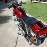 Honda CBX - 1979 - Gas Tank, Seat, Tail Piece and Flasher.
