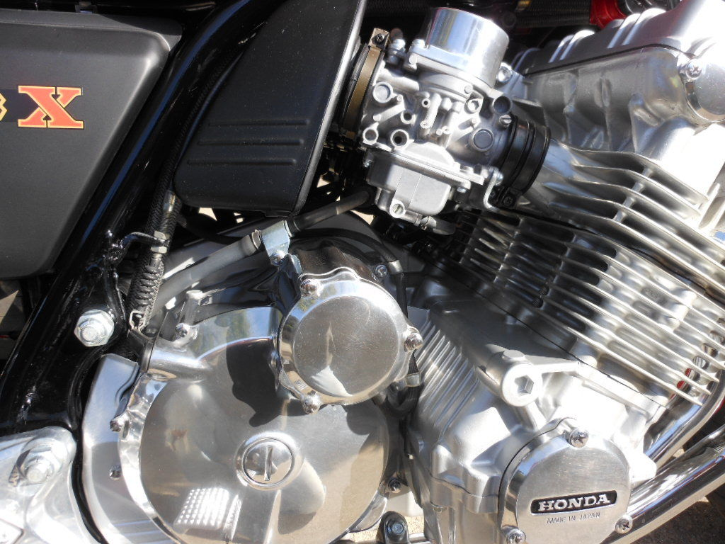 Honda CBX - 1979 - Engine, Clutch Cover and Lever.