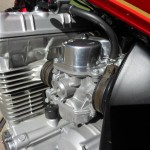 Honda CBX - 1979 - Carburettor, Airbox and Cylinder Head.