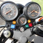 Honda CBX - 1979 - Clocks, Speedo, Tacho, Idiot Lights and Fuse Box.