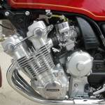 Honda CBX1000 - 1979 - Engine Detail, Super Sport, Six Cylinder, 24 Valve and 6 Carburettors