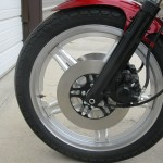 Honda CBX1000 - 1979 - Front Wheel, Fender and Brake.