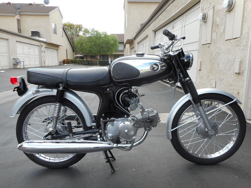 Restored Honda Super 90 1965 Photographs At Classic