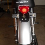 Honda Super 90 - 1965 - Rear Fender and Tail Light.