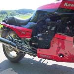 Kawasaki GPZ900R - 1989 - Fairing, Engine Cover, Belly Pan and Exhaust.