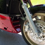 Kawasaki GPZ900R - 1989 - Front Wheel, Brake Lines, Forks and Fairing.