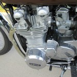 Kawasaki KZ900 - 1976 - Engine Detail, Alternator Cover, Starter Motor Cover and Header.